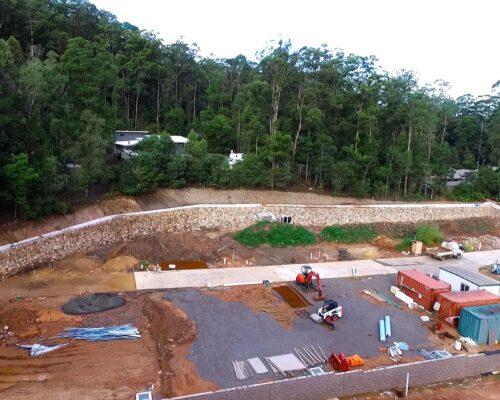 Rock wall forest glen 19 (2000)